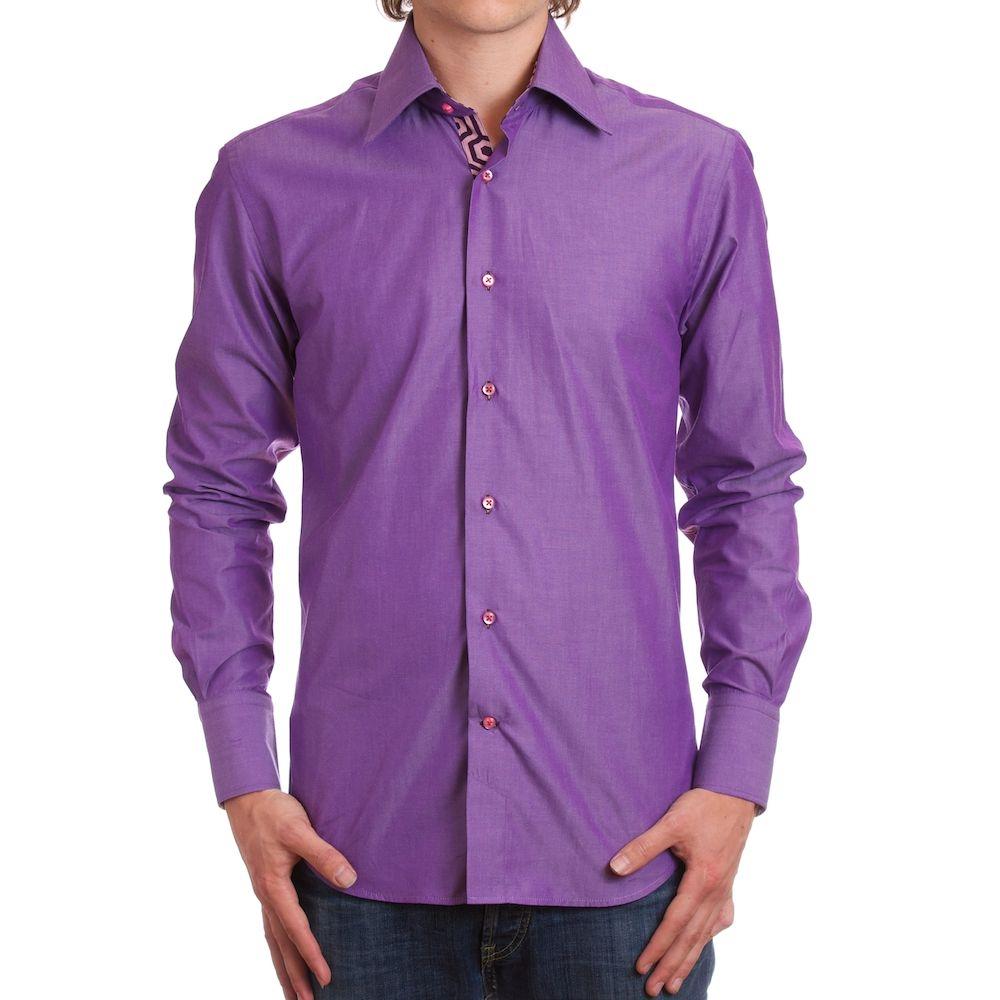 chemise violette homme je prends des cours de danse