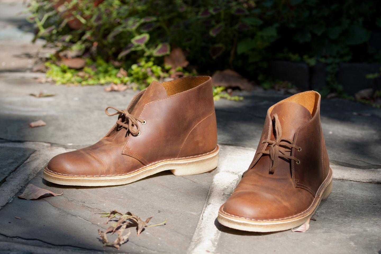 Desert boots, c'est ma chaussure à moi