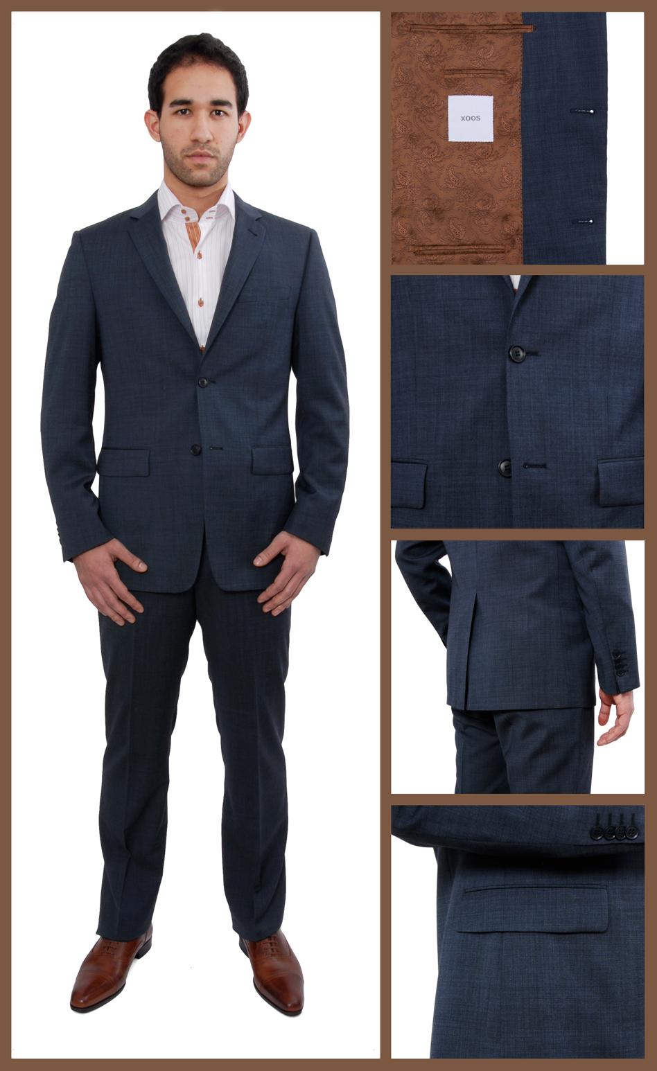 costume homme bleu marine ma tenue d taill e. Black Bedroom Furniture Sets. Home Design Ideas