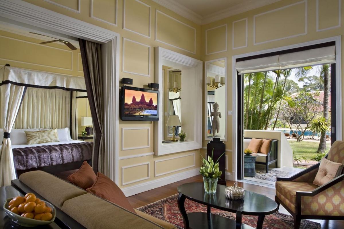 Partez pour le cambodge séjour de luxe