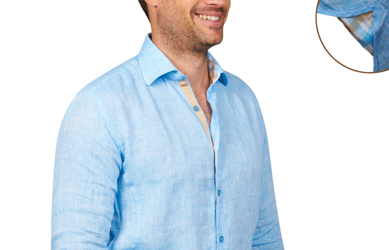 chemise en lin homme confortable et classe t comme hiver. Black Bedroom Furniture Sets. Home Design Ideas