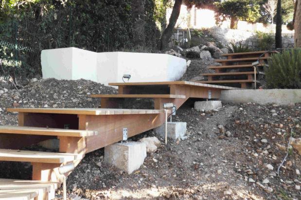 Comment faire un escalier exterieur en bois ?
