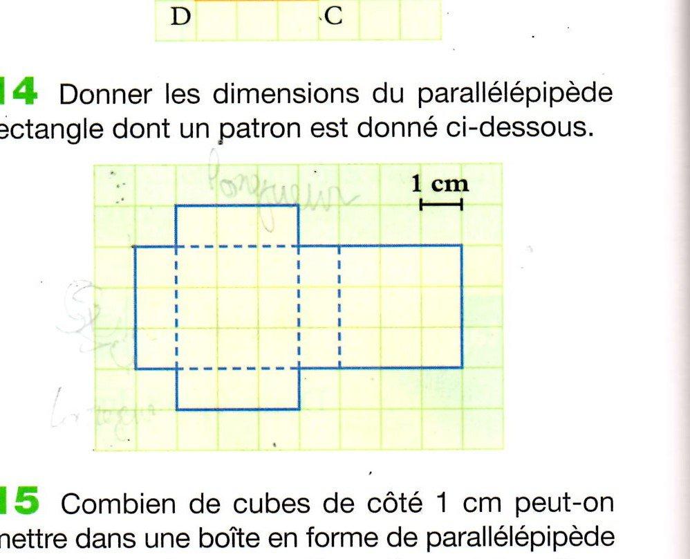 comment calculer le volume d 39 un parall l pip de rectangle. Black Bedroom Furniture Sets. Home Design Ideas
